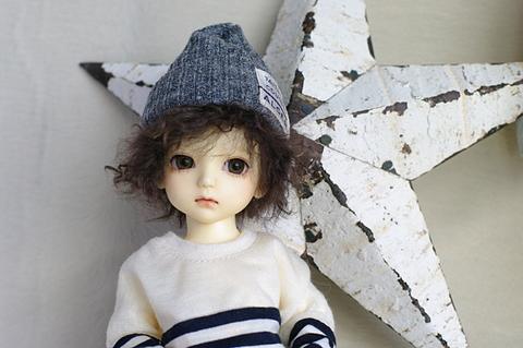 MSDニット帽 / 杢グレー