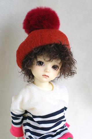 MSDベレー帽/オレンジ