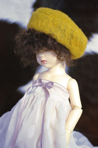 MSDベレー帽/ヤマブキ