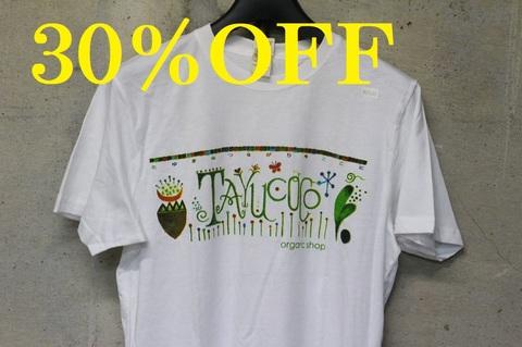 【30%引】TAYUCOCOTシャツ(オーガニックコットン)