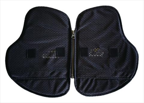 PA-525 インナープロテクターPORON®胸部用 ベルクロタイプ
