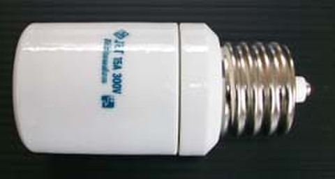 E39-E39延長ソケット       ショート116mm(延長は60~70mm) 磁器製(陶器)PSE耐震型        E39口金のLEDや蛍光ランプの延長に