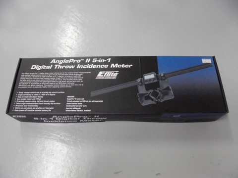 AnglePro Ⅱ 5-in-1 デジタルインシデンスメーター