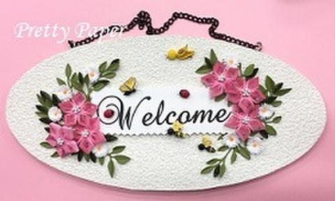Welcome ボード〜お花畑