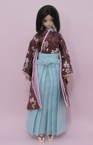 27cm/青年/少年 若衆振袖(桜)