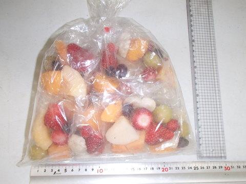 (335)サングリア用のフルーツ小分け