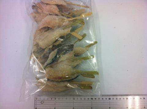 (649)おまかせ魚串 3魚種各20本