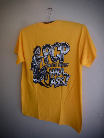 Helping Hippies - S/S T-shirt (GOLD)