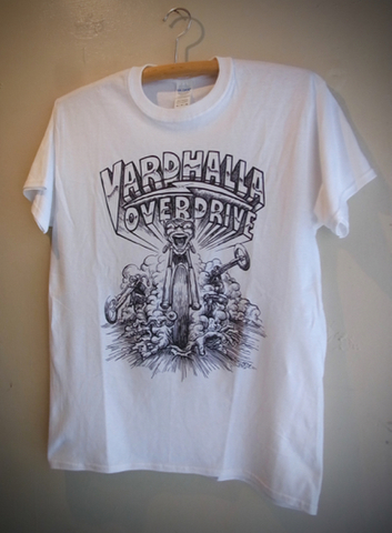 VARDHALLA OVER DRIVE - S/S T-shirt (WHITE)