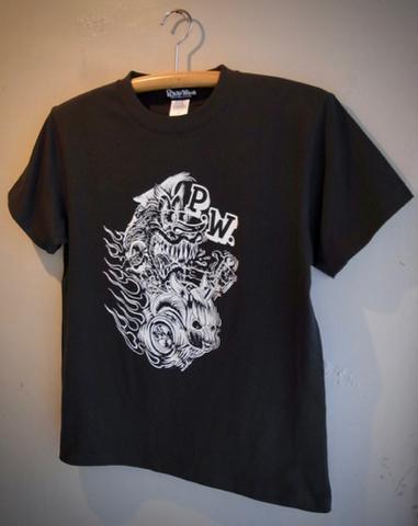 PANTHER ROD - S/S T-shirt (SUMI)