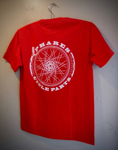 PCP ENDLESS CYCLE - S/S T-shirt (RED)