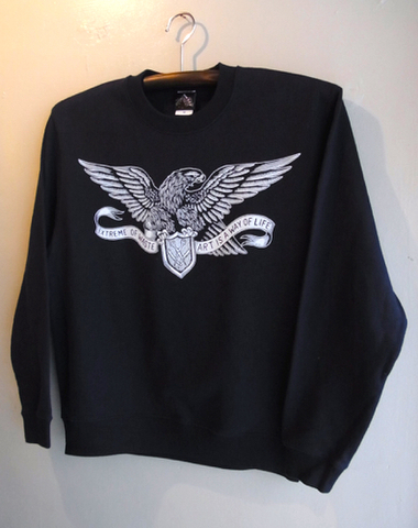 RIPPERS HAWK CREWNECK SWEAT (NAVY)