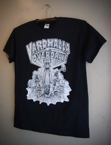 VARDHALLA OVER DRIVE - S/S T-shirt (BLACK)