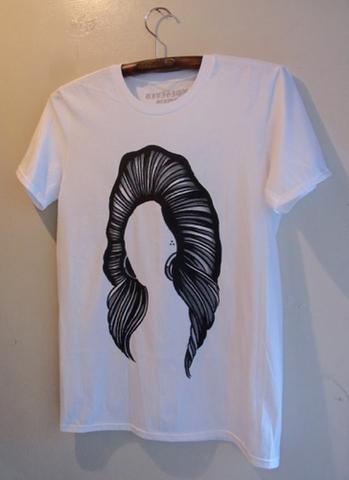 HAIR BEAR - S/S T-shirt (BLACK)