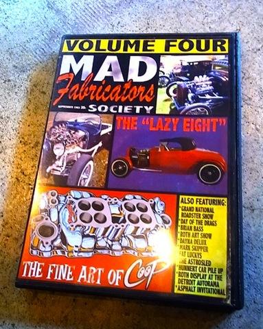 Mad Fabricators Society vol,4 (DVD)