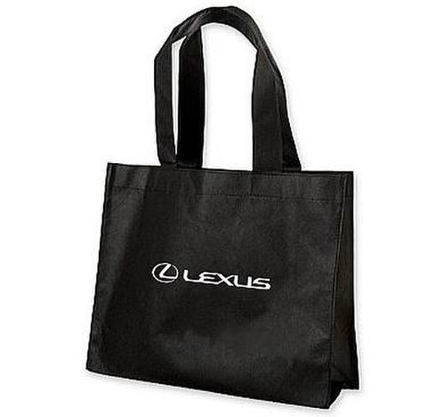 Lexus Black Large Tote Bag