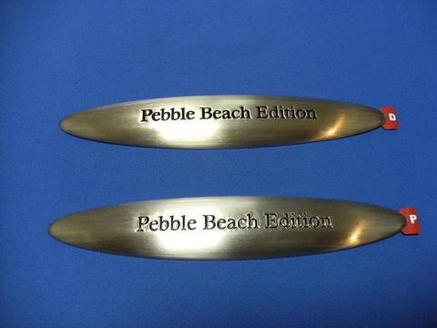 2008 SC430 Pebble Beach Edition バッジ 2枚SET