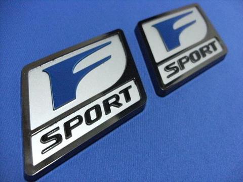 2010 F-Sport ブラックパール フェンダーバッジ SET