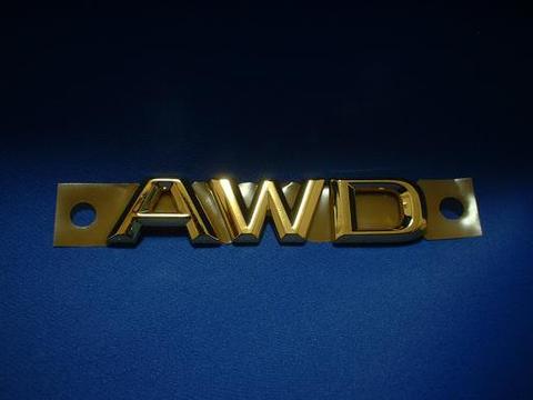 AWD ゴールドエンブレム