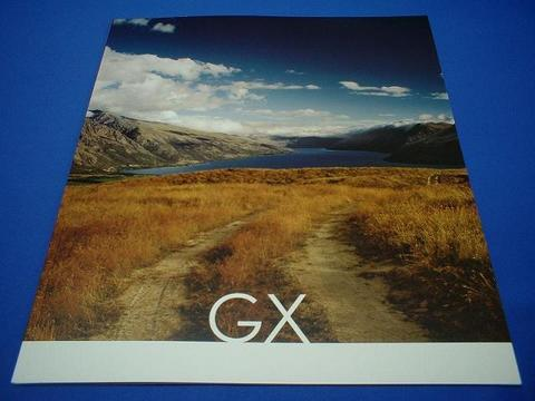 LEXUS 2006 GX470 セールスカタログ
