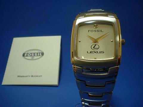 Lexus FOSSIL Gold Watch