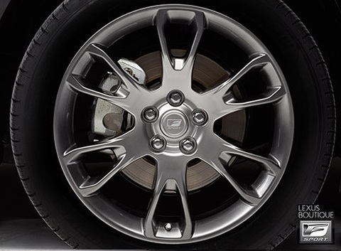 Lexus NX F-Sport Split 6-Spoke Forged 19インチアルミホイールセット
