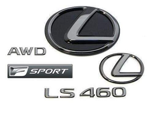 2015 LS460 AWD F SPORT ブラックパールエンブレムキット (エンブレムベース付属)
