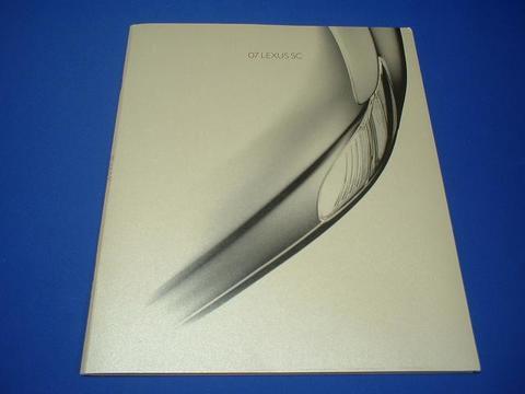 LEXUS 2007 SC430 セールスカタログ
