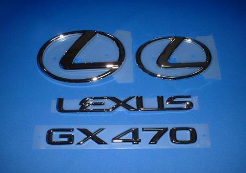 GX470 シルバーエンブレムキット