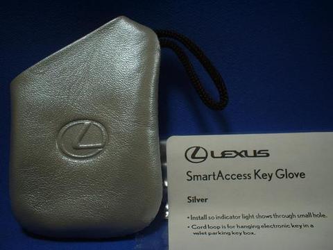 2007 LEXUS スマートアクセスキーグローブ(シルバー)
