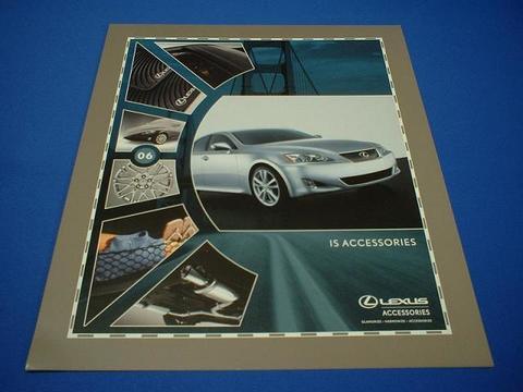 LEXUS 2006 IS350/250 アクセサリーカタログ