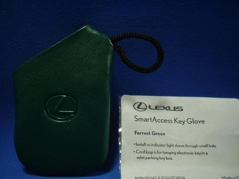 2007 LEXUS スマートアクセスキーグローブ(グリーン)
