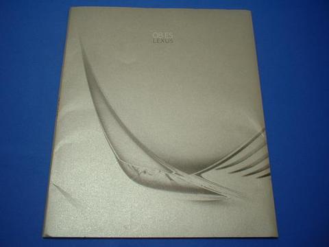 LEXUS 2008 ES350 セールスカタログ