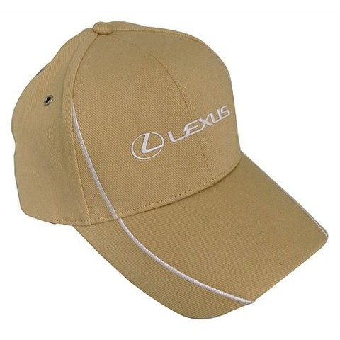 Lexus Brushed Cotton Sandstone Cap