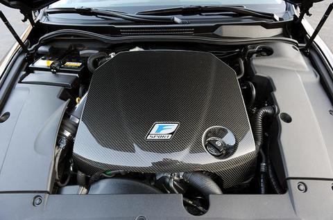F-Sport カーボンエンジンカバー