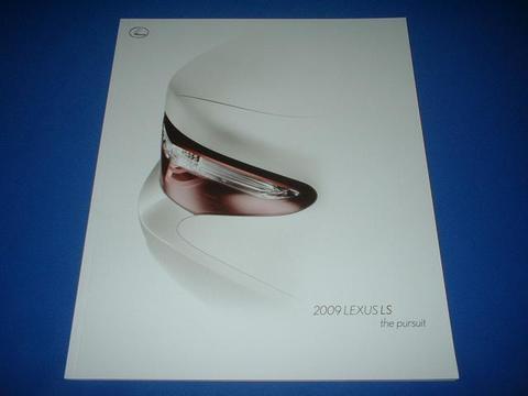 LEXUS 2009 LS460/460L/600h/600hL セールスカタログ