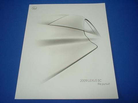 LEXUS 2009 SC430 セールスカタログ