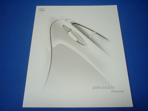 LEXUS 2009 ES350 セールスカタログ