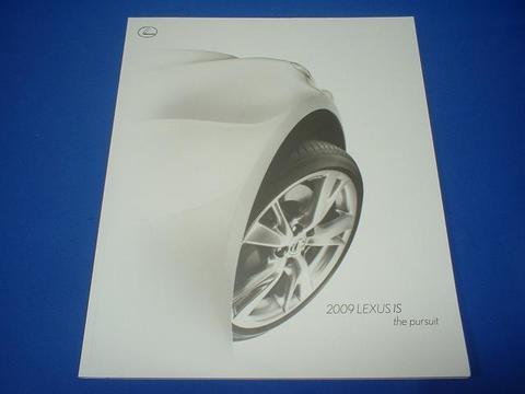 LEXUS 2009 IS350/250 セールスカタログ