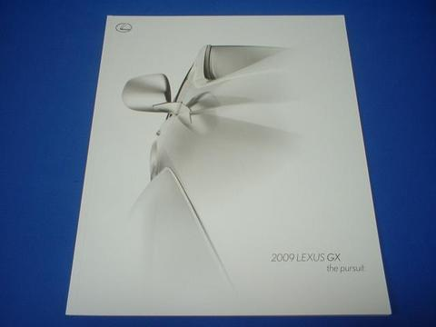 LEXUS 2009 GX470 セールスカタログ