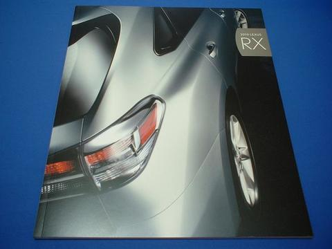 LEXUS 2010 RX350/450h セールスカタログ