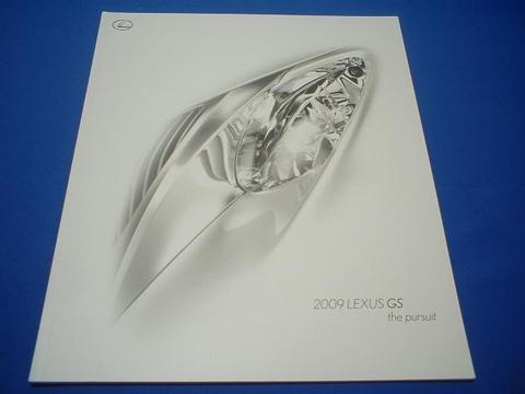 LEXUS 2009 GS350/460 セールスカタログ