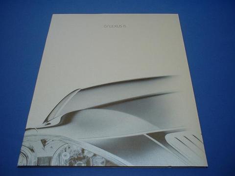 LEXUS 2007 IS350/250 セールスカタログ
