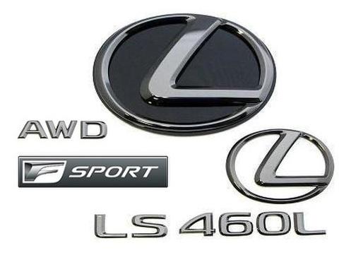 2015 LS460L AWD F SPORT ブラックパールエンブレムキット (エンブレムベース付属)