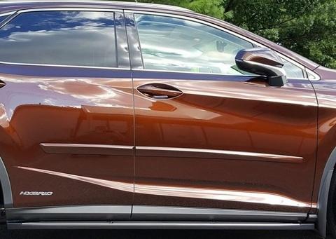 EU LEXUS 2016 RX 200t/450h ボディーサイドモールディングKIT