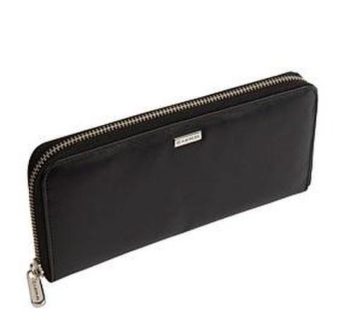 Lexus Leather Zipper Long Wallet