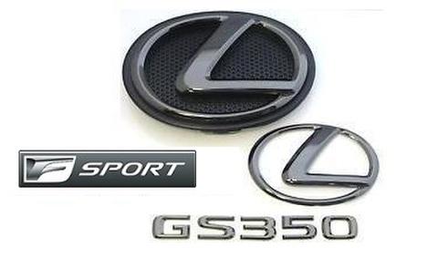 2015 GS350 F SPORT ブラックパールエンブレムキット (エンブレムベース付属)