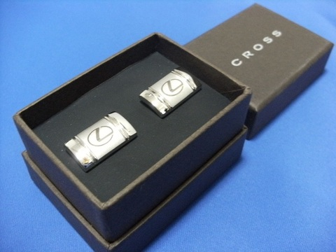 Lexus Cross Cufflinks