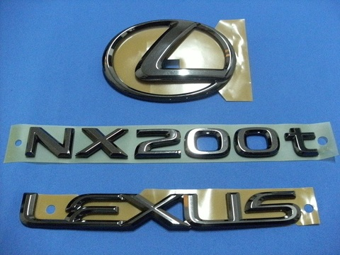 LEXUS NX200t ブラックパール エンブレムキット - 3PCS
