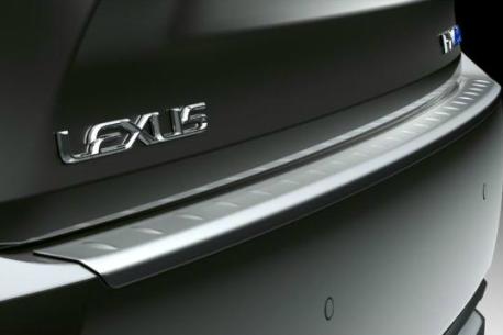 EU LEXUS 2016 RX リアバンパープロテクションプレート
